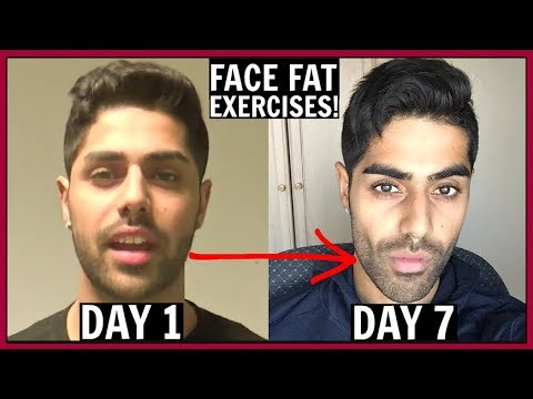 Face Fat Exercises For Chubby Cheeks Amp Double Chin Youtube