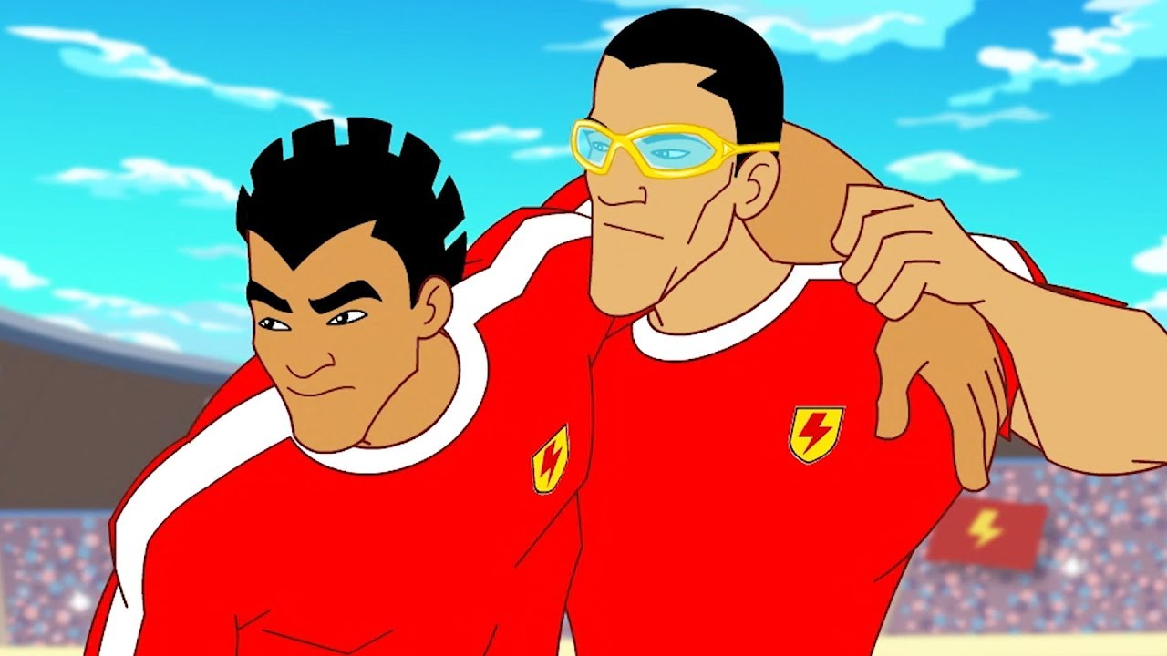 Download Supa Strikas Full Episode Compilation   Blasts From The Past   Soccer Cartoons for Kids