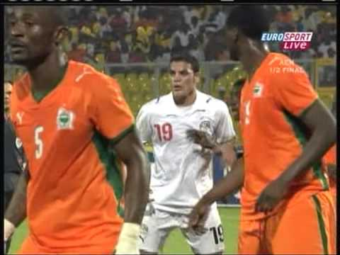 2008 February 7 Egypt 4 Ivory Coast 1 African Nations Cup