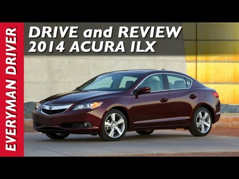 Here's the 2014 Acura ILX on Everyman Driver