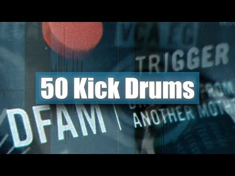? 50 Kick Drums Sample Pack (with Moog DFAM)