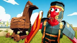 The Trojan Chicken Sneak Attack - Totally Accurate Battle Simulator (TABS)