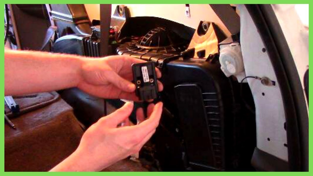 Replacing Rear Blower Motor Ac Resistor Chevy Trailblazer 2002 Ext Lt Tips Tools Youtube