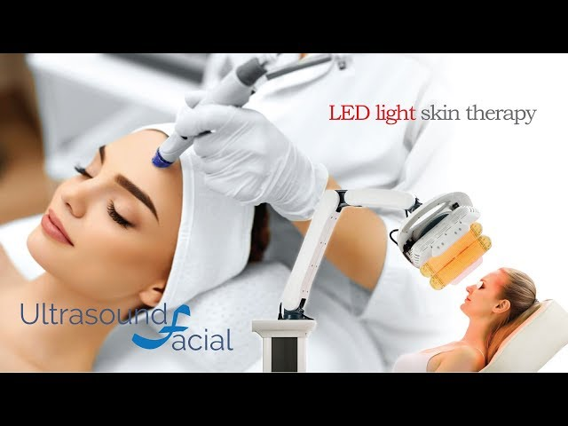 Ultrasound Facial and LED light therapy - Glasgow, Edinburgh