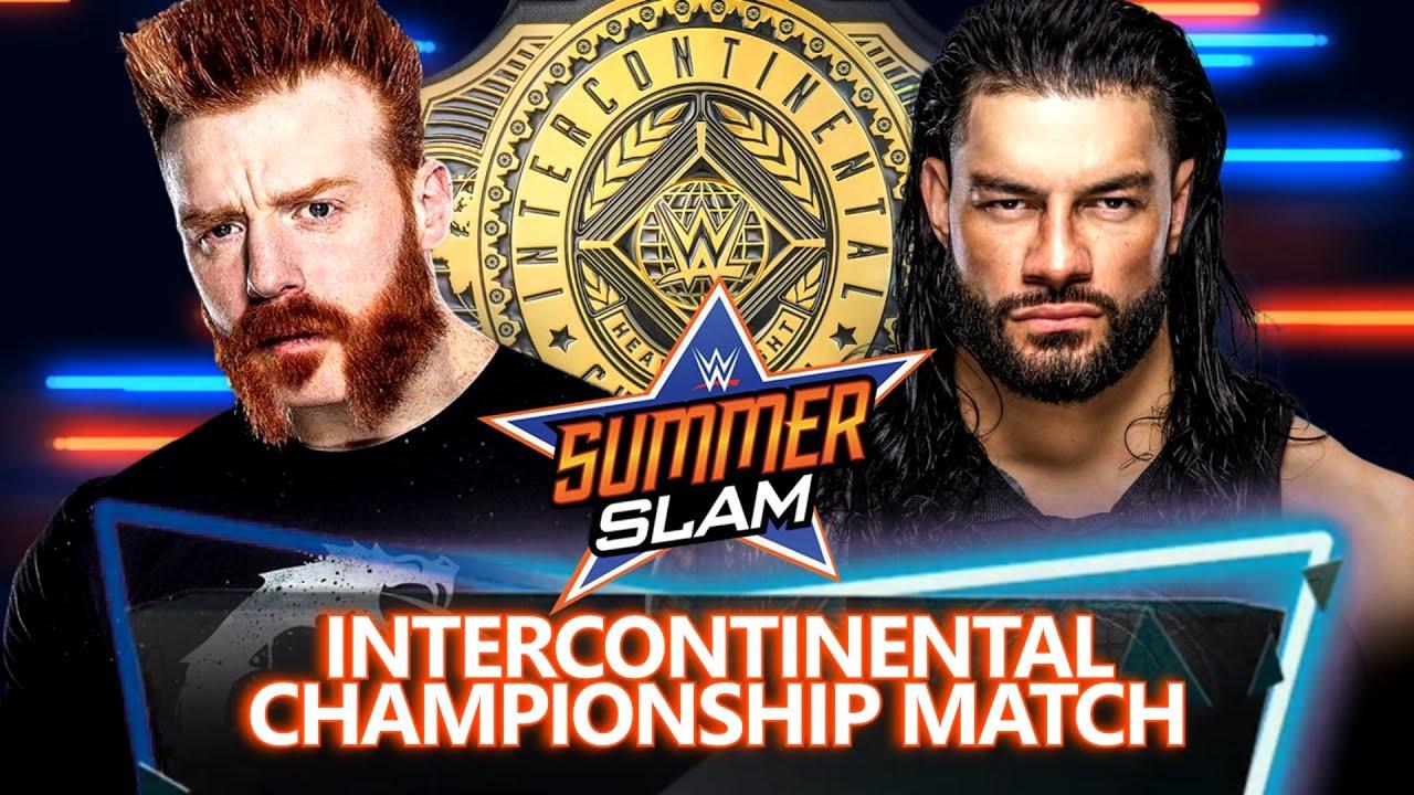 WWE Summerslam 2020 Dream Match Card - YouTube