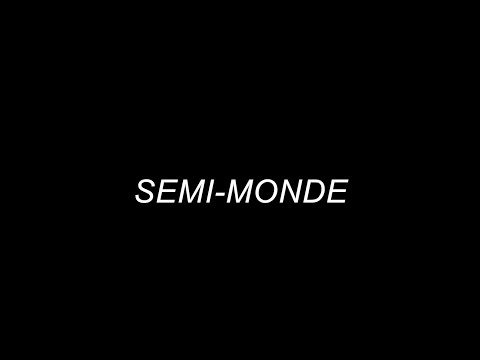 """Semi-Monde"" by Noël Coward"