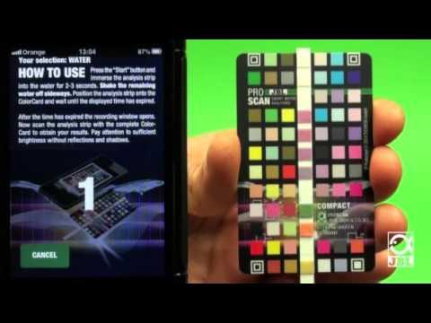 jbl proscan aquarium water test on your smartphone youtube. Black Bedroom Furniture Sets. Home Design Ideas