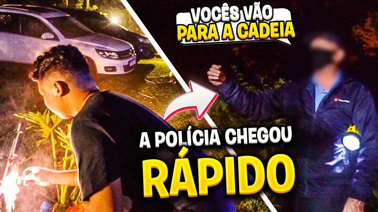 COMEMORAMOS A VOLTA MAS A POLÍCIA CHEGOU E...