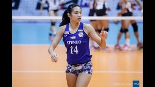 Bea De Leon UAAP80 Highlights | Ateneo Lady Eagles