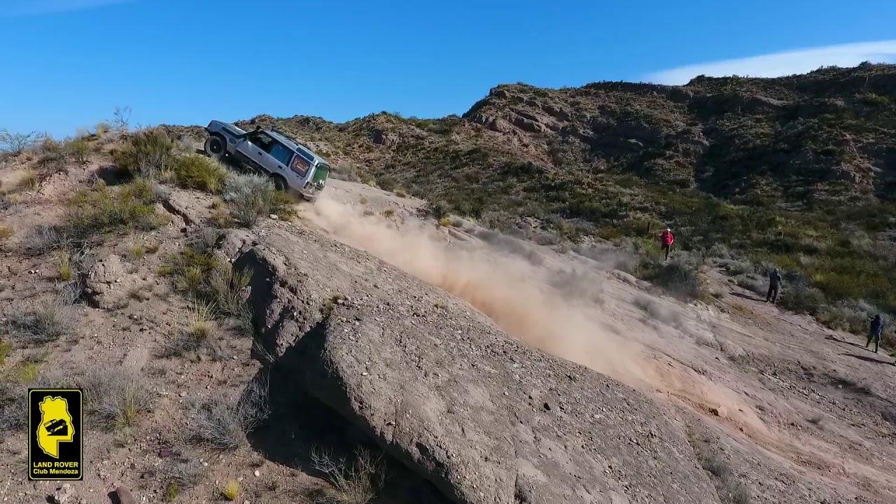 land rover club mendoza en el circuito cacheuta, mendoza, argentina