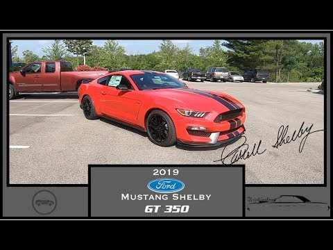2019 Ford Mustang Shelby GT350|Walk Around Video|In Depth Review