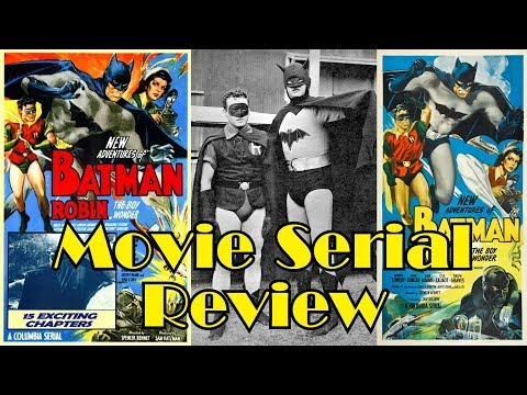 Repeat Batman 1943 Movie Serial Review by Zaranyzerak
