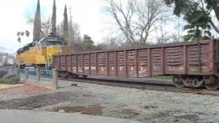 Union Pacific Action in Davis (part 1)