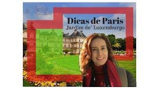 Visita em Paris - Jardim de Luxemburgo