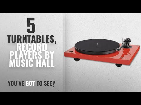 Top 5 Music Hall Turntables, Record Players [2018]: Music Hall MMF 2.2LE 2-Speed Limited Edition
