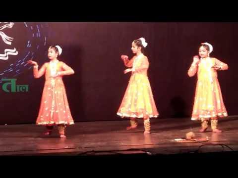 Gungun rawat kathak dans Global harmony 2017 pune