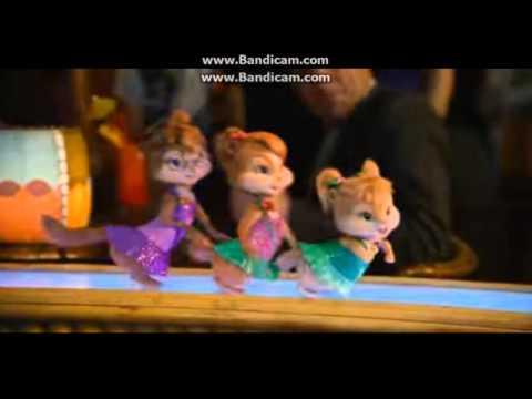 Alvin ve Sincaplar |salsa night| kızlar şarkı söler