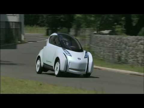 Nissan Land Glider Ev Concept Youtube