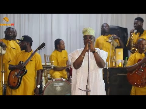 K1 DE ULTIMATE PERFORMS AT THE WEDDING CEREMONY OF SHOLA & KAMAR IN LAGOS