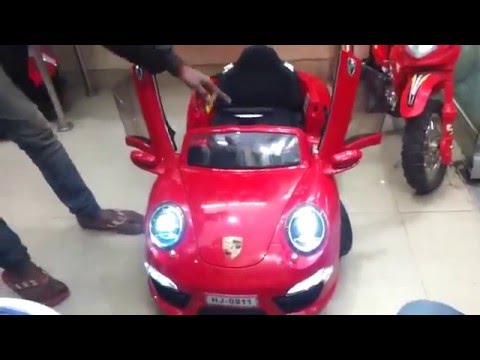 Porsche Electric Powered Battery Kids Youtube