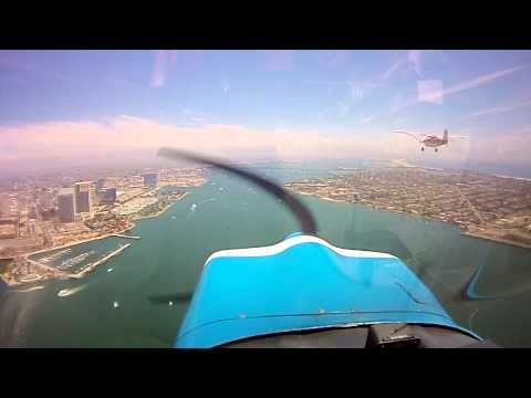 High Definition San Diego Harbor and Delta Transition with ATC!