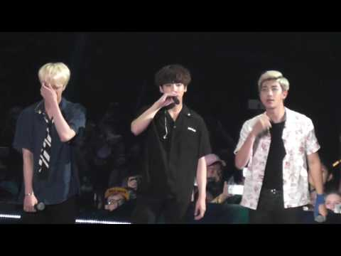 KCON Prudential Center 06/25/16  BTS and closing