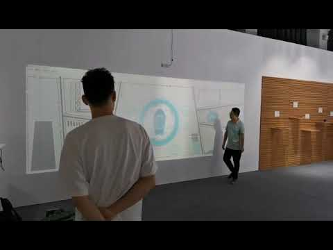 interactive projection, laser touch module,make any flat surface into a touch screen