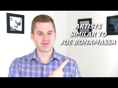 Artists Similar To Joe Bonamassa