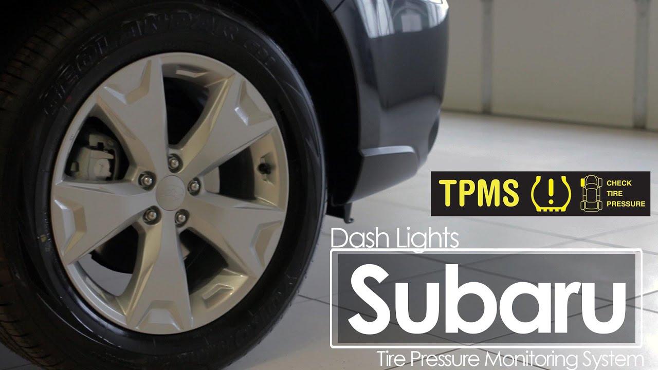 Subaru Tpms Dash Lights Service You