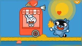 Малыш Панго делает мороженое. Мультик игра для детей
