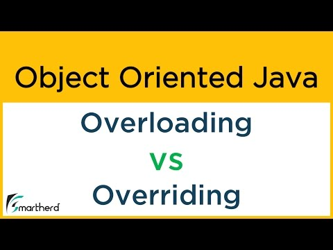 #16 Object Oriented Java: OVERLOADING vs OVERRIDING
