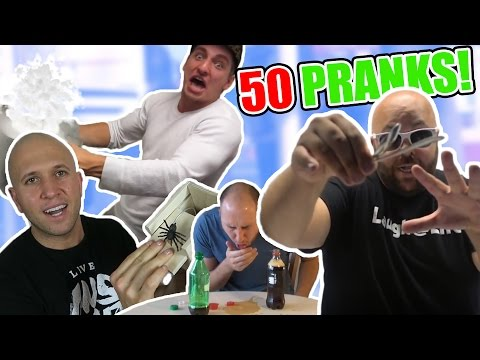 Thumbnail: 50 BEST PRANKS - HOW TO PRANK COMPILATION