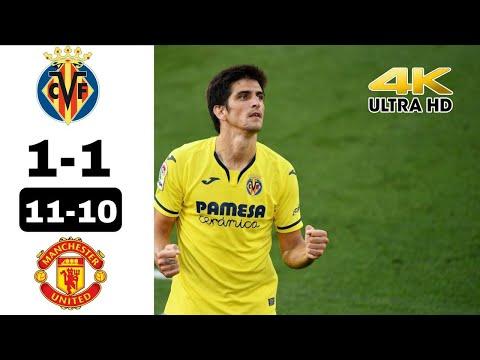 Villarreal 1(11) - 1 (10) Manchester United | Highlights | 4K UHD | UEL 2021 Final |
