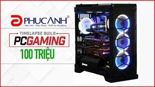 Quá trình lắp ráp Timelapse Build PC Gaming 100 Triệu Full - SLI 2 Card Asus ROG STRIX GTX 1080Ti