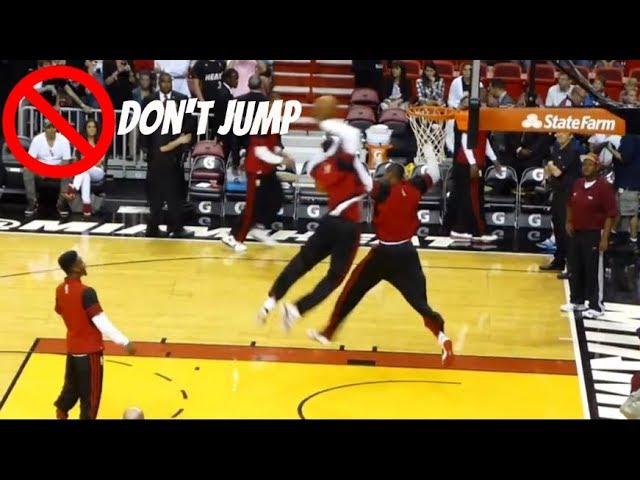 nba-best-dunks-in-pregame-practice