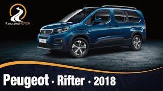 Peugeot Rifter 2018 | Video e Información / Review en Español