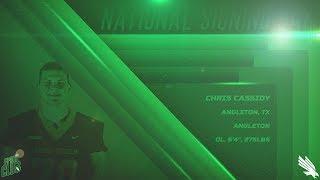North Texas Football: OL - Chris Cassidy NSD 2018