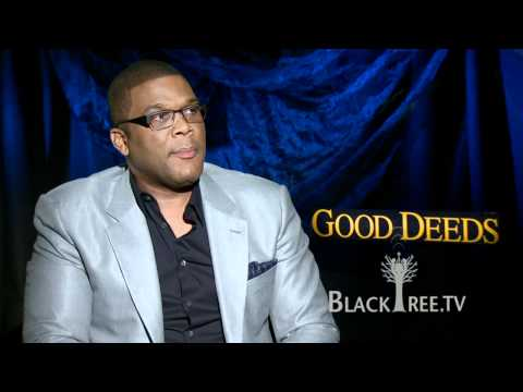 Tyler Perry makes GOOD DEEDs Personal