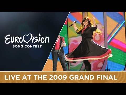 Flor-de-lis - Todas As Ruas Do Amor (Portugal) LIVE 2009 Eurovision Song Contest