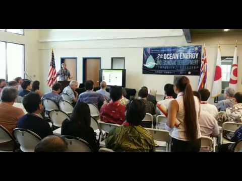 (Part 2--1st Day) 8th Ocean Energy and Economic Development Symposium & Workshop