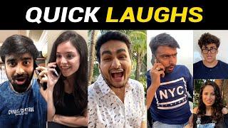 QUICK LAUGHS (Short Funny Videos) | Anmol Sachar