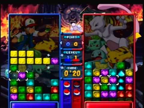 Tetris Attack/Pokemon Puzzle League vs Max Difficulty AI