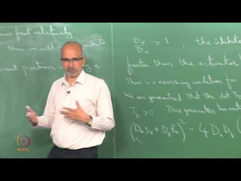 Mod-01 Lec-33 Turing patterns: Results