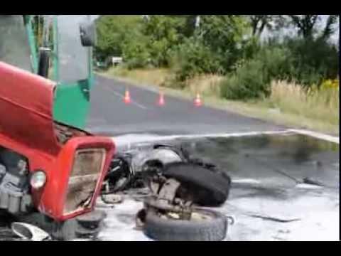 Bolec.Info Śmiertelny wypadek 29.08.2013 zginął motocyklista