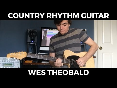 country rhythm guitar lesson  shuffle patterns | wes theobald