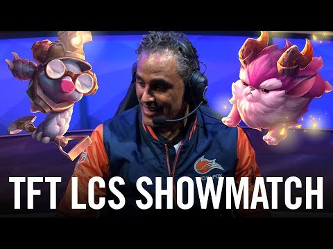 Teamfight Tactics LCS Show Match (ft. Rick Fox, Contractz, Kobe and more)
