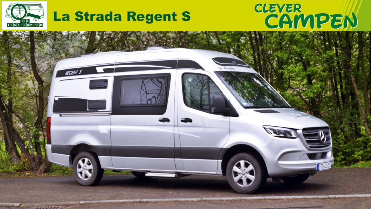 la strada regent s 2019 alter bekannter auf neuem mercedes sprinter test review clever. Black Bedroom Furniture Sets. Home Design Ideas