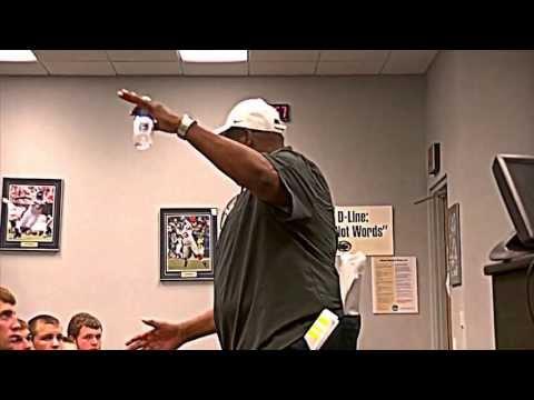 Larry Johnson PSU to LHS Football - RUN THROUGH THE DOOR!
