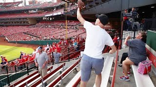 450 foot softball home runs at busch stadium long haul bombers