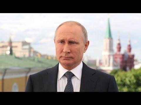 Обращение Владимира Путина к болельщикам и спортсменам в преддверии ЧМ 2018 по футболу